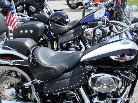 Stud Harley Heat Shield Shamrock Auto Trim